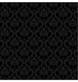 Seamless Damask Wallpaper 3 Gray Color vector image