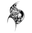 Styled tattoo pattern vector image vector image