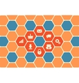 Hexagon Texture vector image