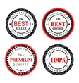Best Seller Badges Design vector image