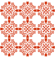 Slavic geometrical ornament seamless pattern vector image