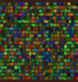 vivid circles bright seamless background vector image