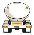 fuel tanker vector image