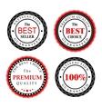 Best Seller Badges Design vector image