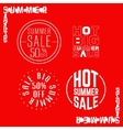 Summersale vector image