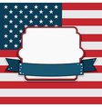 Usa frame vector image