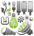 led bulb vector image vector image