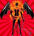 maiden demon vector image vector image