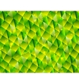Abstract polygonal triangles tech background vector image vector image