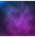 Clouds on Night Background 1980s Retro vector image