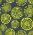 ethnic circular seamless pattern vector image