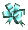isolated ribbon icon vector image