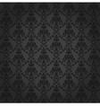 Seamless Damask Wallpaper 4 Gray Color vector image