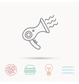 Hairdryer icon Electronic blowdryer sign vector image