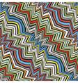 colorful broken stripes vector image