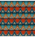 Tribal ornament in vibrant colours Seamless vector image