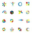 Set of Colorfull Design Element vector image