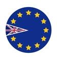 Brexit of the eruropean union design vector image
