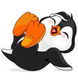 Happy Penguin vector image vector image