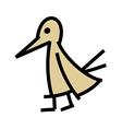 icon bird vector image vector image