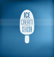 Ice Cream Sign vector image vector image
