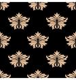 Retro damask seamless pattern vector image vector image