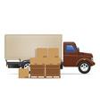 cargo truck concept 03 vector image