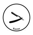 Razor icon vector image
