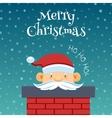Funny Santa Claus 2 vector image