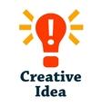 creative idea icon vector image vector image