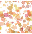 seamless abstract geometric square pattern vector image vector image