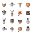 Animal Hipster Set vector image vector image
