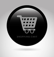 shopping cart design vector image