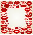 Lip a frame vector image