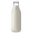 bottle of milk1 vector image