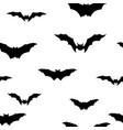 halloween bat seamless pattern holiday halloween vector image