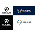 logo construction industry vector image