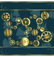 cogwheel gears vector image