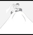 Wedding logotype vector image
