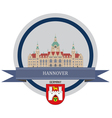 Hannover vector image vector image