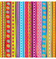 colorful strip vector image vector image