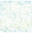 seamless pattern with spring leaves pastel vector image