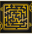 maze or labyrinth vector image vector image