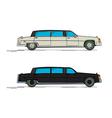 Cartoon limousine vector image