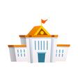 icon school vector image vector image