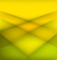 Abstract geometric yellow background vector image vector image