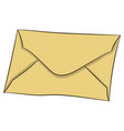 letter in envelope drawing vector image
