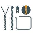 Zipper vector image