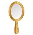 vintage mirror vector image