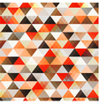 seamless orange pattern background vector image vector image
